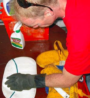 Getting Rid of Mold and Mildew Onboard