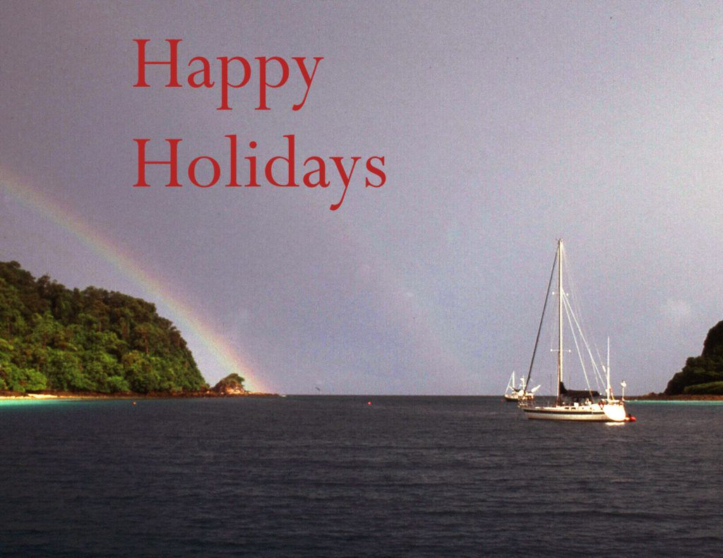 A South Pacific Night Before Christmas