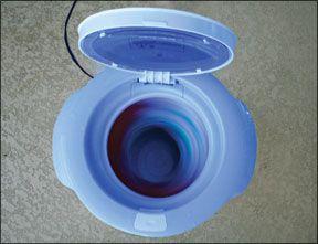 Mini Countertop Spin Dryer