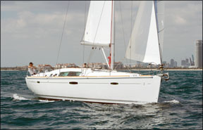 The Beneteau 46 Curved Cabintop