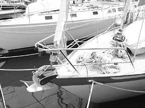 Offshore Log: The Reefing Staysail