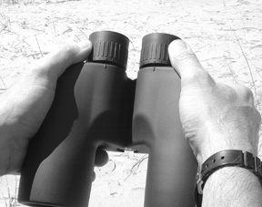 Binoculars: 7×50, Waterproof, With Compasses