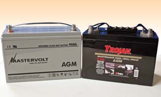 the best AGM marine batteries