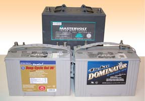 AGM marine batteries