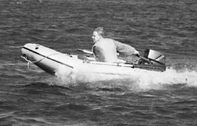 In-Water Inflatable Boat Test