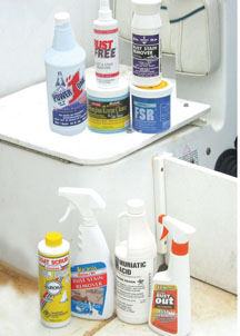 Star brite Tops Marine Rust Erasers