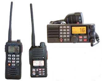 Standard Horizon VHFs