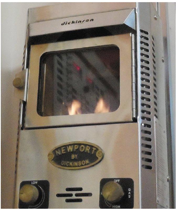 Dickinson LPG fireplace