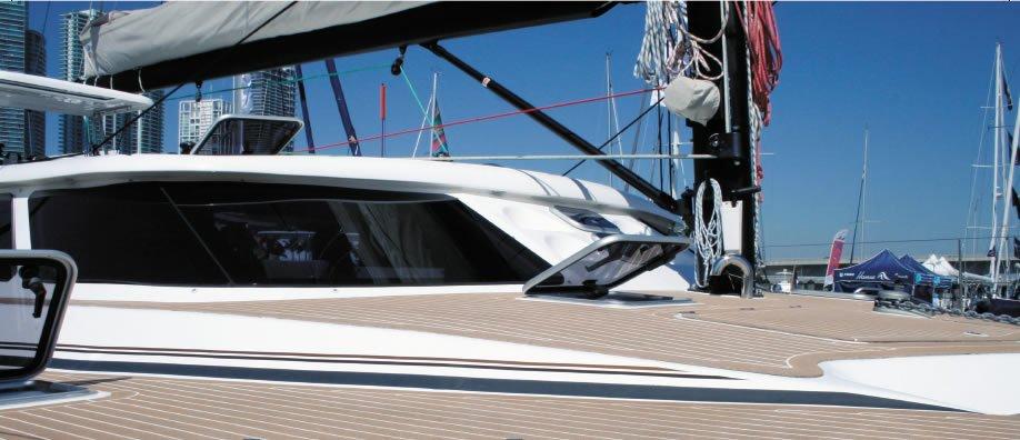 deck seams