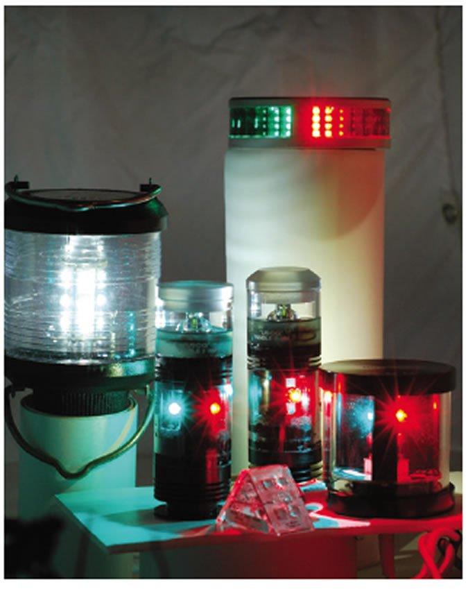 LED tri-color masthead lights