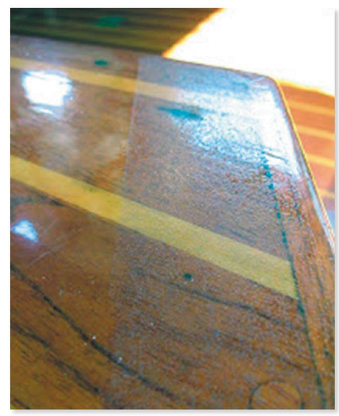 Salted varnish