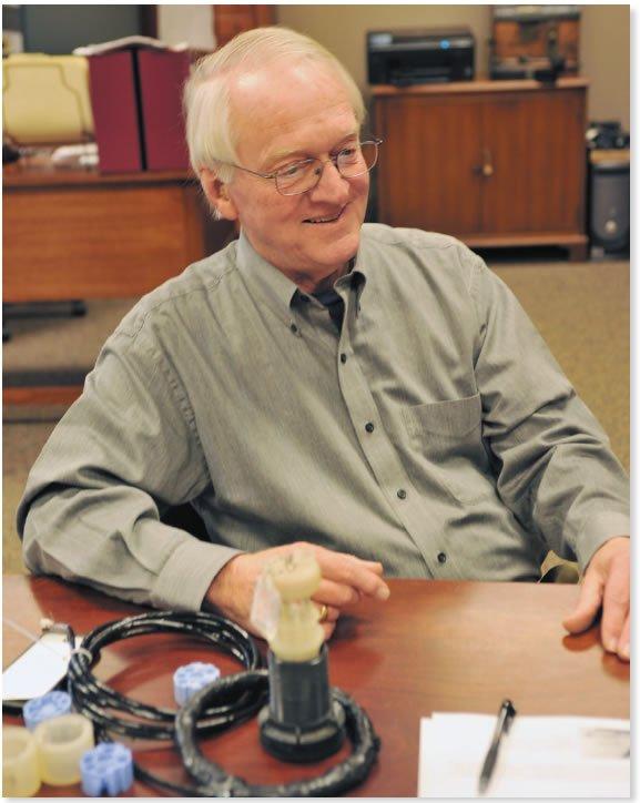 Brickhouse Innovations founder Larry Marsh