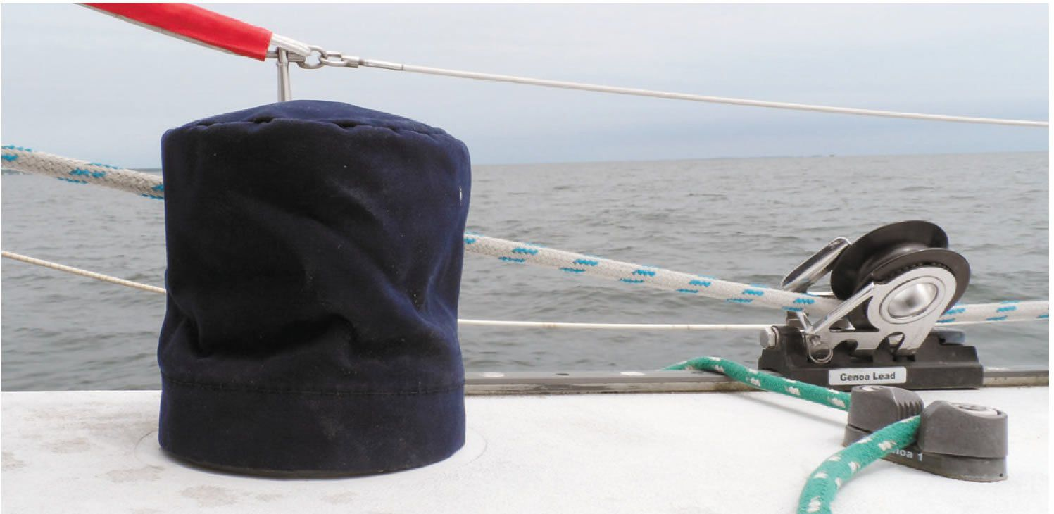 Canvas winch covers