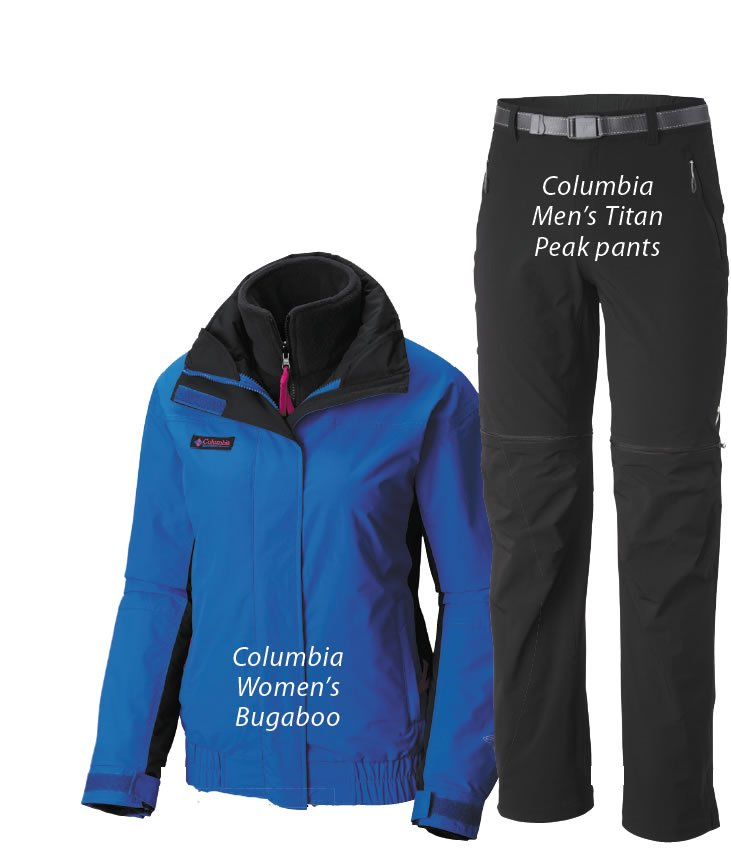 Columbia Men's Titan Peak pants