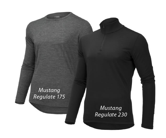 Mustang base layers