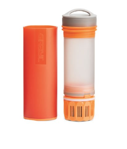 Grayl water filter-bottle