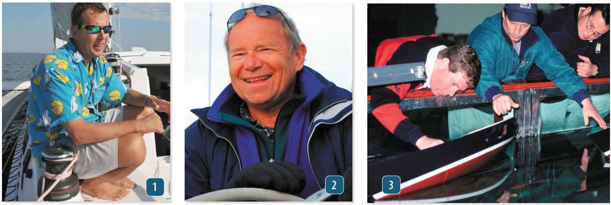 Sailing safety and risk management experts