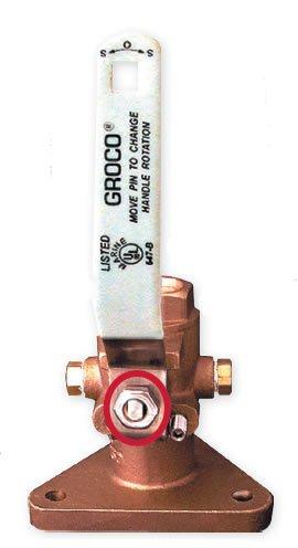 stainless-steel stem bolt