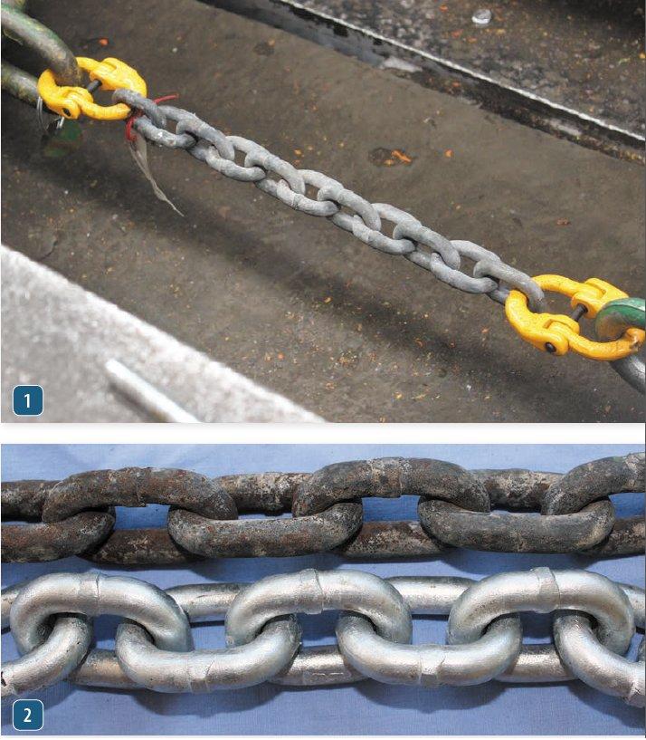 G4 Chain Breaking Strength
