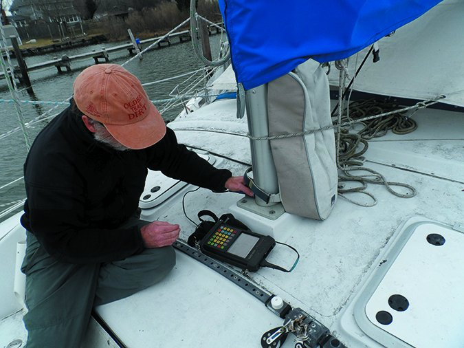 mast corrosion testing