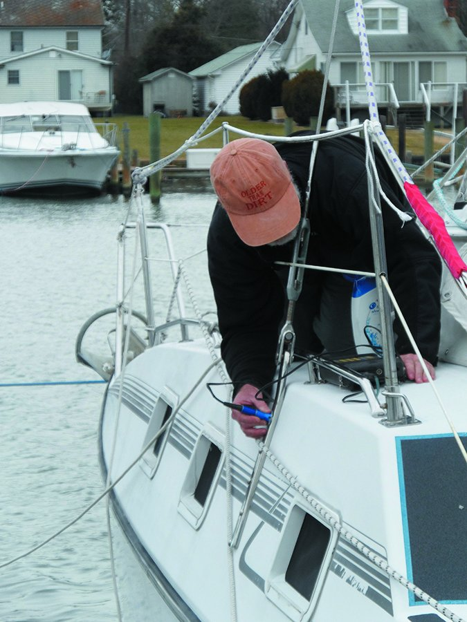 sailboat chainplate inspection