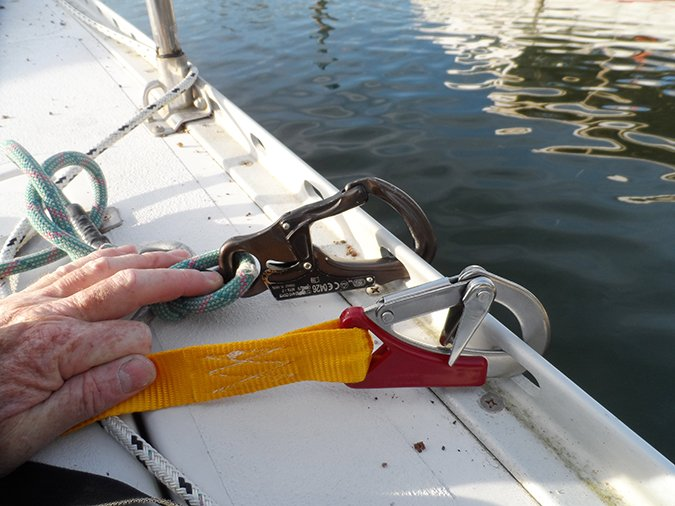 sailing safety tethers