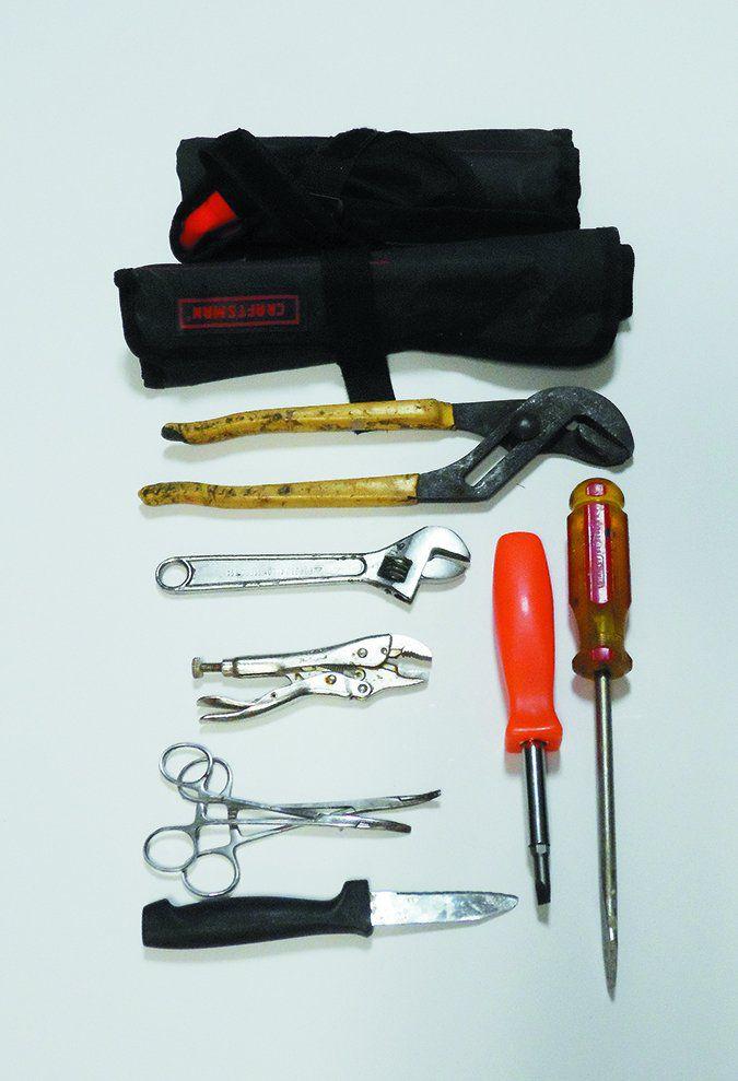 sailboat mechanical repair tools