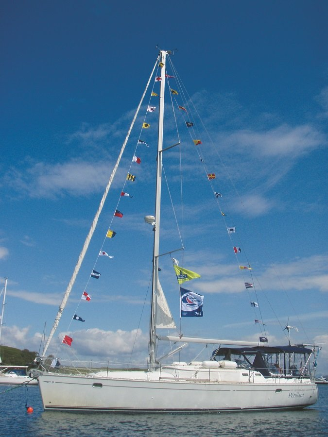 Mailport: anchoring etiquette, stern-tied boats, and wind generators