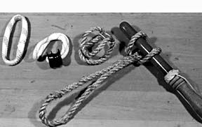 High-Tech Rope Shackles
