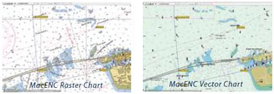 MacENC nautical charting
