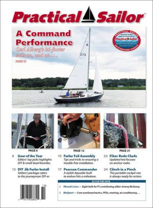 practical sailor subscription newsletter cover