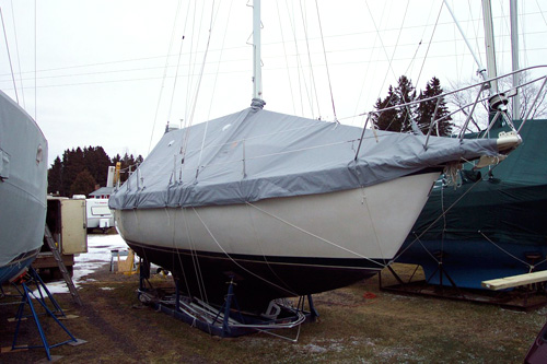 sailboat winter cover