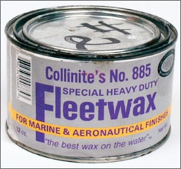 Collinite Fleetwax for marine and aircraft maintenance