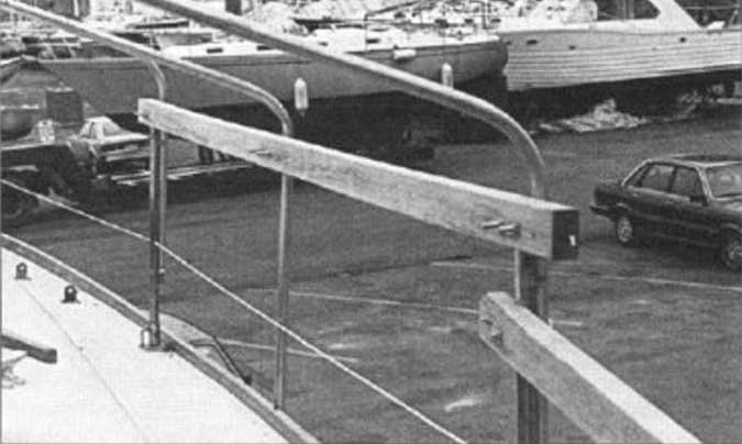 diy winter boat cover frame
