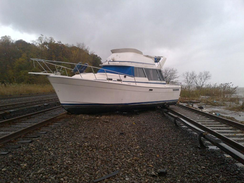 Stay Safe While Saving a Storm-damaged Boat
