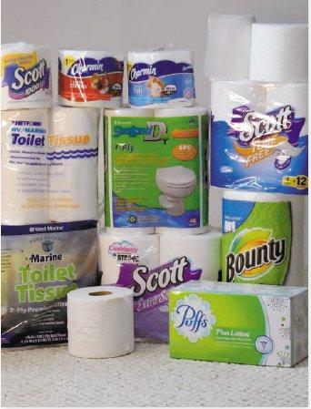 Scott Rapid dissolve toilet paper