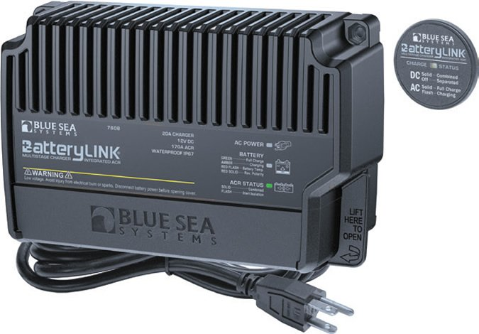 Blue Sea smart BatteryLink system