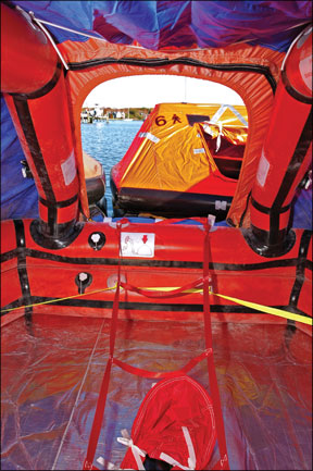 Zodiac Class Ocean Life Raft