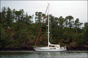 C&C 38 sailboat