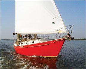 Niagara 35 sailboat