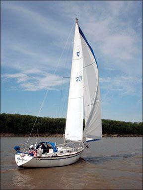 Higher Porpoise sailboat