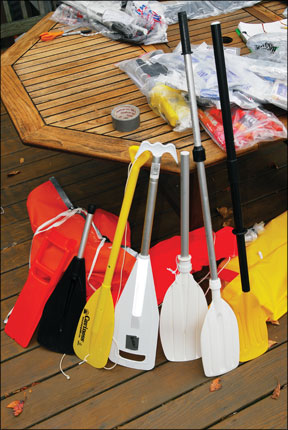 Life Raft Paddles
