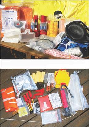 Zodiac?s ISAF Survival Kit
