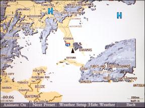 Garmin/XM Satellite Weather Service