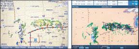 Garmin/XM and Raymarine/Sirius Compared