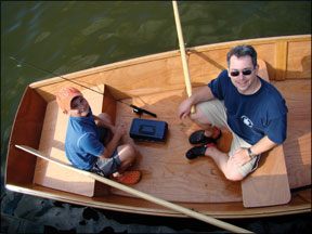Backyard Boatbuilding