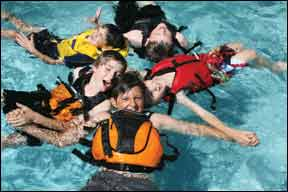 Kids Life Jackets for Active Sailors