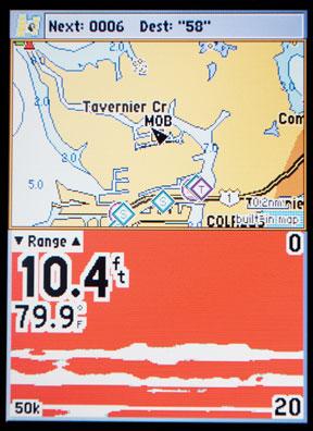 Plotter/Sounder Sailboat Navigation Equipment