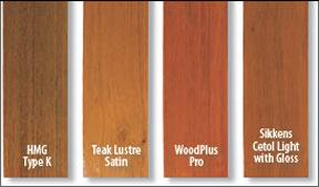 Sailboat Exterior Wood Coatings