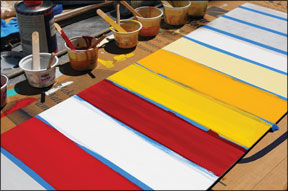 Two-Part Linear Polyurethane Paints